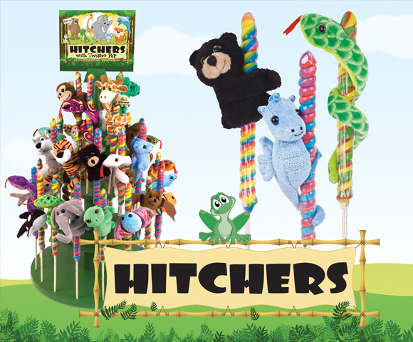 Hitchers ® on Twister Pops