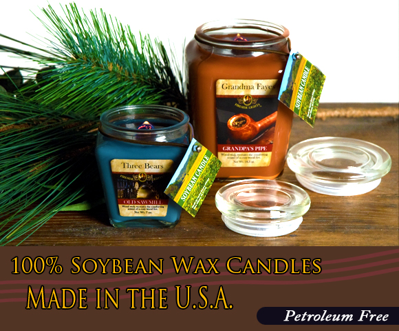 100% Soy Bean Wax Candles