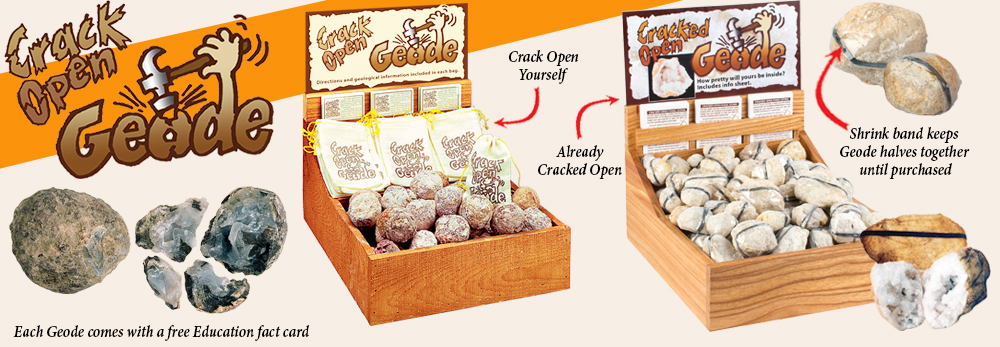 Cracked Open Geodes - Squire Boone Village