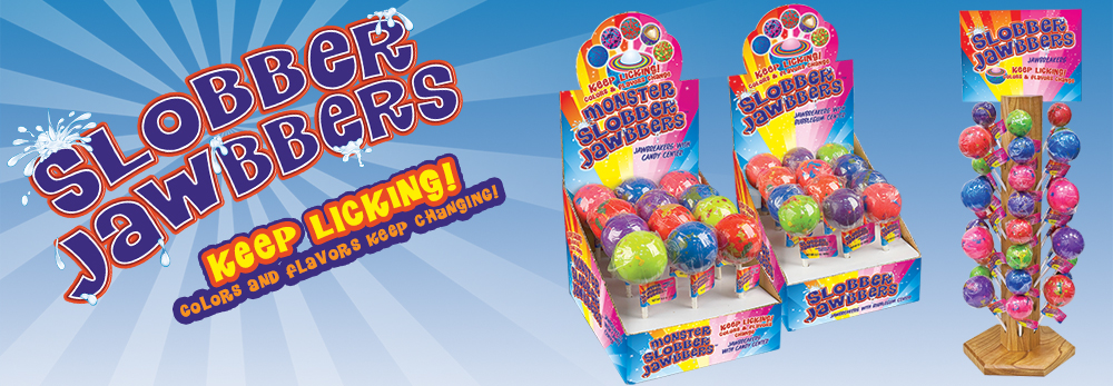 Slobber Jawbbers! Jawbreakers with Bubblegum! - Squire Boone Village