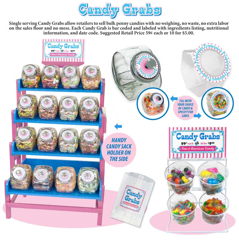 Candy Grabs Ad