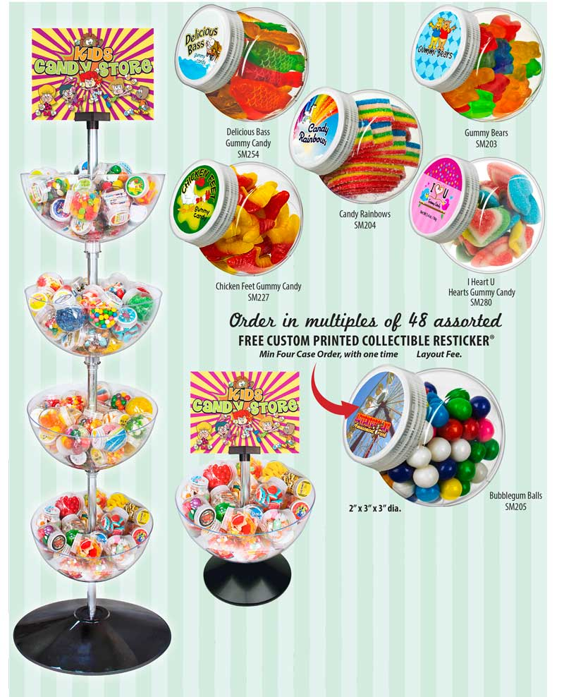 Candy Store Mini Jars Ad