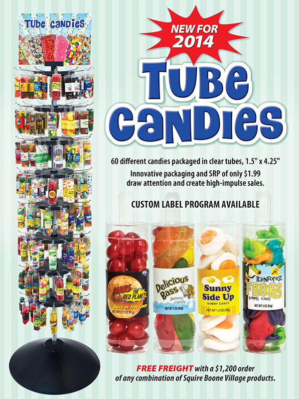Tube Candies Ad