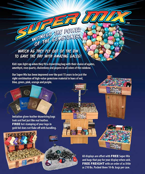 Super Gemstone Mix Ad