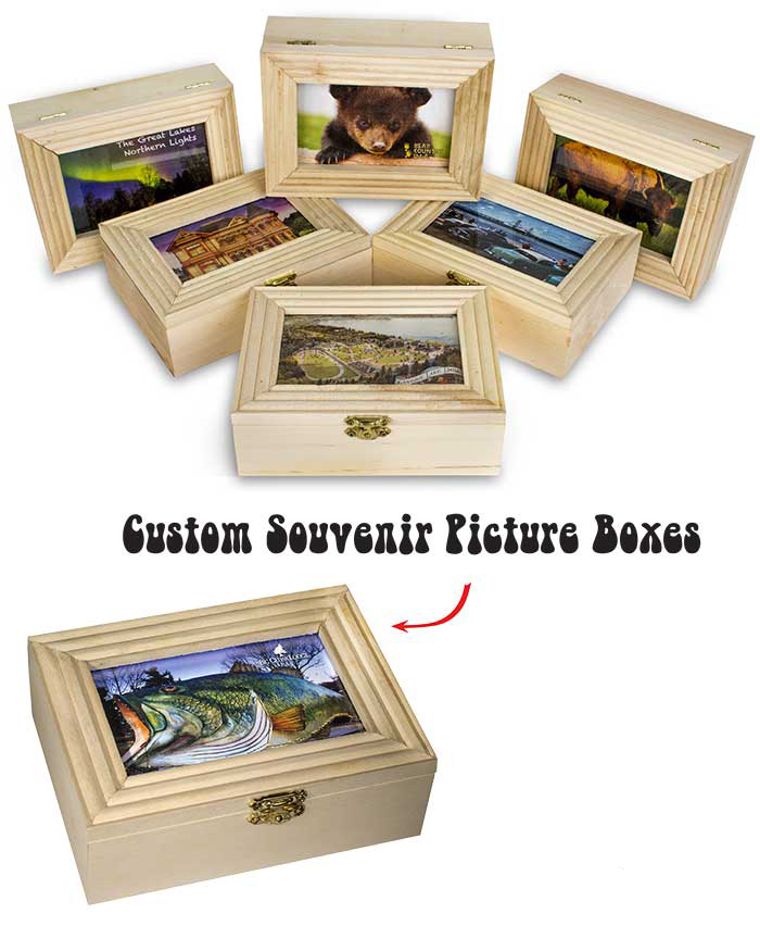 Custom Souvenir Picture Boxes Ad