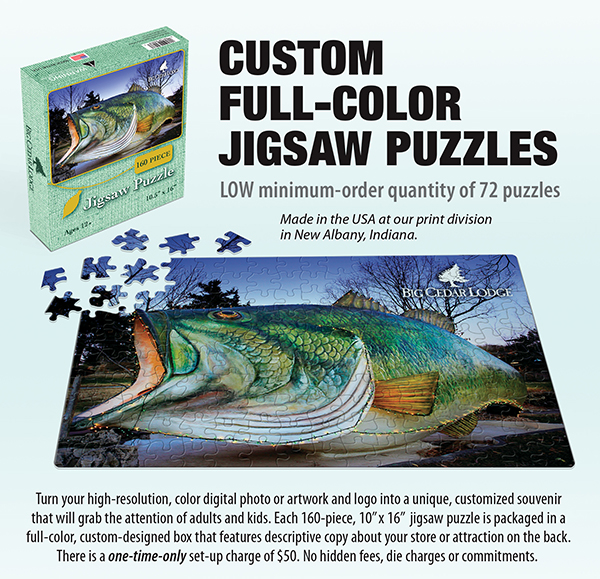 Custom Full Color Puzzles Ad